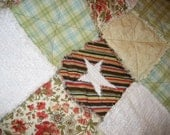 Fall Days Baby - Rag Quilt