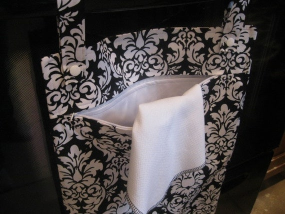 Dandy Damask Hanging Kitchen Wetbag