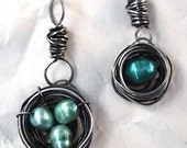 Wire Bird's Nest Charm Tutorial