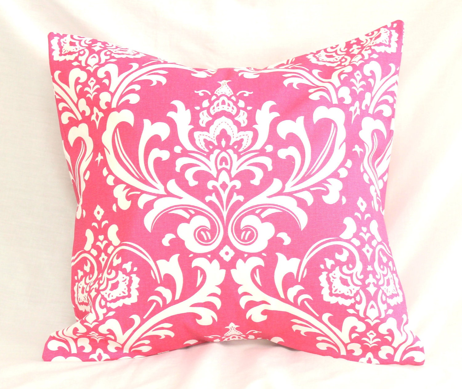Decorative Pillow Cover Preppy Hot Pink Damask  18 X 18. Room Divider Fish Tank. Decorative Cordless Table Lamps. Decorative Lanyards. Design A Room Layout. Ottoman For Living Room. Decorative Concrete Walkways. Japanese Home Decor. Vintage Decor For Bedroom