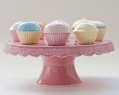 Stitch Cake Stand - 10 inch - MADE TO ORDER - color options