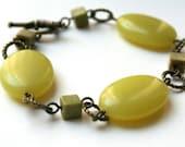 RESERVED - Chartreuse Bracelet