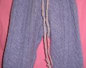 Wool Diaper Cover Pants Longies MEDIUM