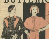Butterick Fashion News sewing pattern booklet June 1934 in PDF