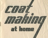 Vintage 1940s WWII Coat Making at Home booklet in PDF