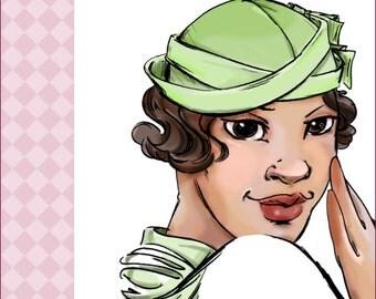 NVL 1930s Cap Hats 23 head PLUS SIZE 4179