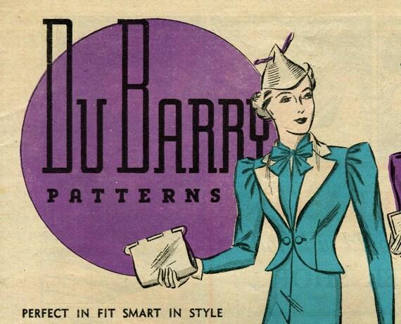 Du Barry Patterns booklet March 1937 in PDF