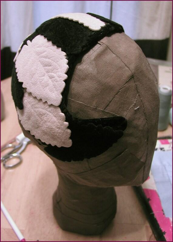 1940s Wool Felt Topper Hat 22 to 23 head