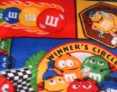 MadieBs Personalized M and M Nascar Pillowcase New