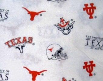 MadieBs Crib or Toddler Bed Sheet Set HOOK EM HORNS  Custom  Texas Longhorns
