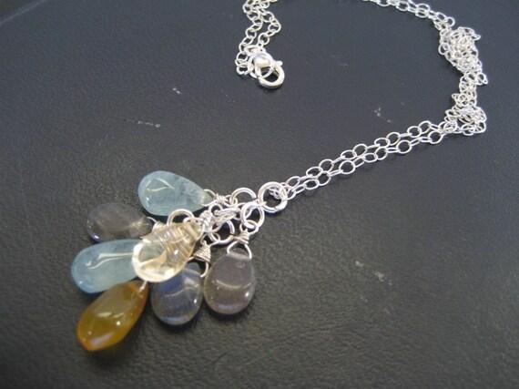 Stone Rain Necklace