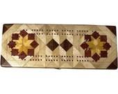 Hackberry Rolling Star Cribbage Board