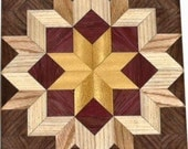 Bright Carpenters Wheel Quilt Block