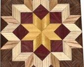 Les charpentiers lumineux de roue Quilt Block