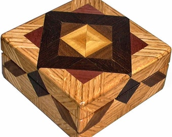 Oak ASC Square Box