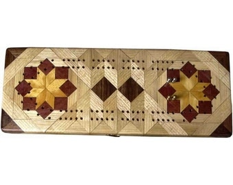 Hackberry Rolling Star Cribbage Board