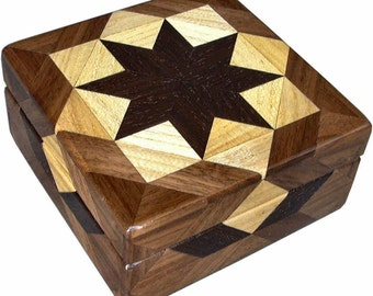 Square Hackberry Box