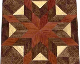 Morning Star Quilt Block
