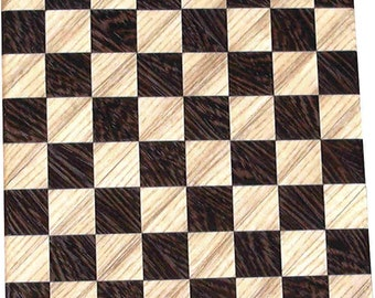 Hackberry and Wenge Small Chess Board