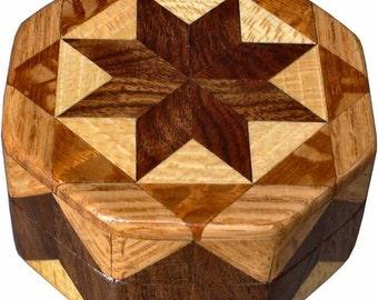 Brown Tone Ring Box