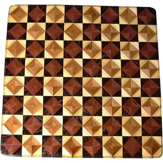Ph-Wenge RG-Hb 8TS Chess Board