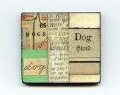 Dogs - Unique Collage Magnet