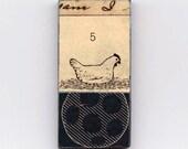 Chicken - Unique Collage Magnet