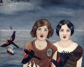 The Woodcutters Daughters print on fine art paper