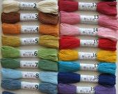 Sashiko Threads Japanese Hand Embroidery Threads