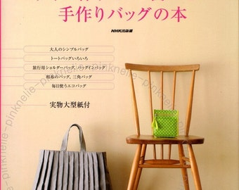 HANDCRAFTED BAG Japanese Craft Book*
