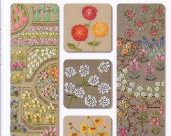 Cute Small Flowers Embroidery Japanese Craft Book