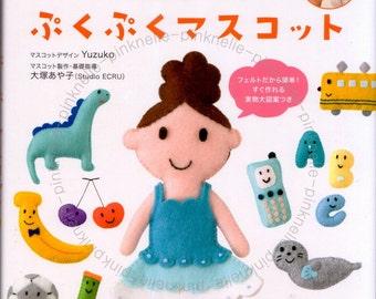 Yuzuko Mascot of Felt Japanese Craft Book