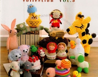 Amigurumi Crochet Collection Vol 5 Japanese Craft Book>