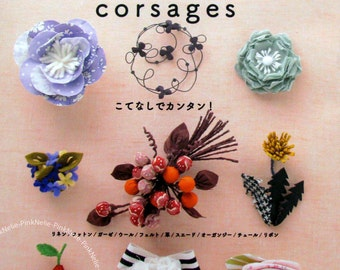 FASHIONABLE 100 CORSAGES Japanese Craft Book