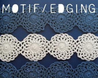 CK - 70 Cotton and Linen Motif Edging Japanese Craft Book - FREE Shipping Item