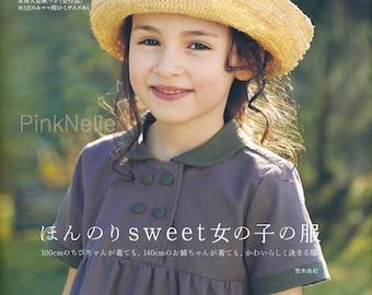 FREE Shipping - Sweet Girls Dresses Japanese Craft Book*