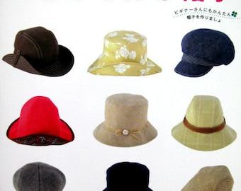 Beginner Series of MAKING HAT n3017 Japanese Craft Book
