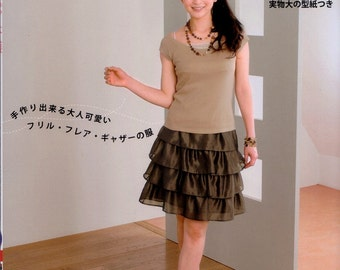 Simple Style Free Shirring  n2884 Japanese Craft Book