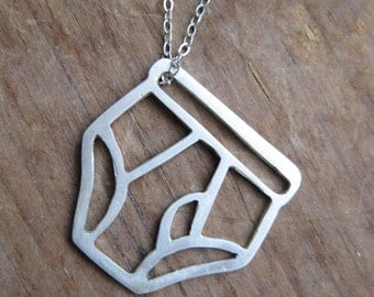 UNDERPANTS tighty whitey mens underwear sterling necklace