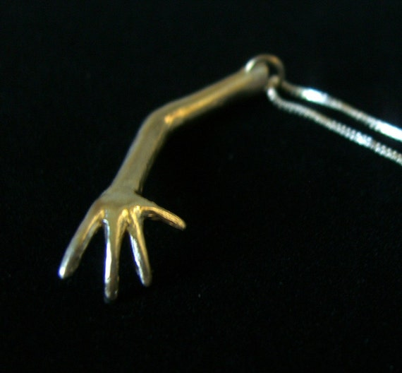 ARM solid sterling silver necklace