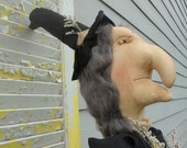 Primitive Witch Vacuum Cover AWESOME
