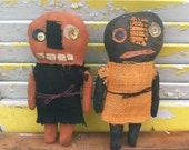 Primitive Halloween Heebie and Jeebie