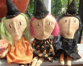 Primitive Halloween Witches of Eastwick-