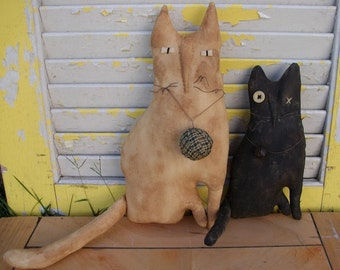 Primitive Cats Millie N Tuck Set