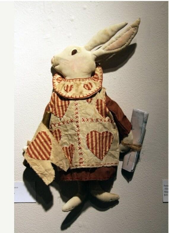 Primitive Alice in Wonderland White Rabbit
