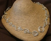 Silver acts of Randomness Necklace