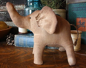 Primitive Lucky the Elephant Digital PDF Pattern, Primitive Elephant