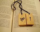 A Little Bird Told Me Bookmark