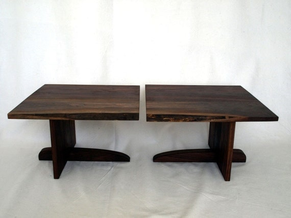Custom Walnut Coffee Tables for tchang1113
