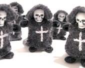 Miniature Grim Reaper Art Doll